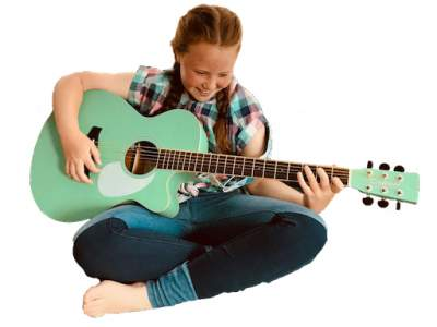 Student for Kids Guitar Lessons Crawley